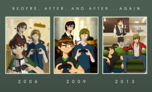 Before, After, and After...Again by vonmatrix5000