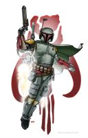 Boba Fett by Kminor