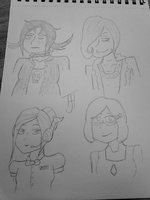 Oh look Anti Verse sketches by a-little-odd