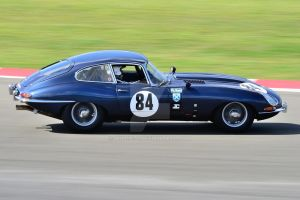 Jaguar E Type No 84 by Willie-J