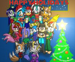 Happy Holidays from all of us by footman