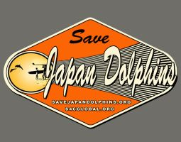 Save Japan Dolphins Logo by MarcWF