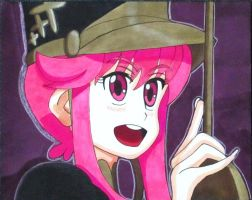 Nonon Screenshot ( Ep.17) Drawing by MasterMcCraig1982