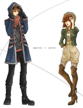 Noctis.Lucis: Military Jackets by ember-snow