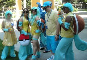 Squirtle Squad 2 by LiliNeko