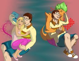 Total Drama Revenge Love by sl88