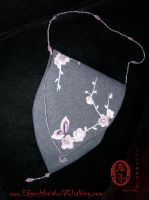 Cherry Blossom evening purse by Oniko-art