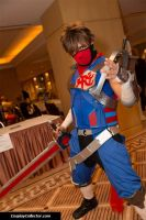 Strider Hiryu Cosplay by LunarMATIQUE