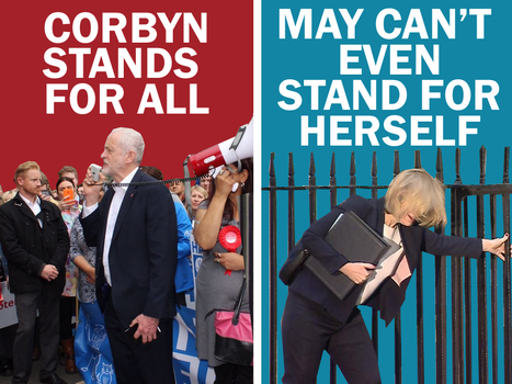 Corbyn Standing Strong by Party9999999