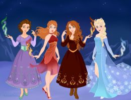 Disney's Seasons and Elements by M-Mannering