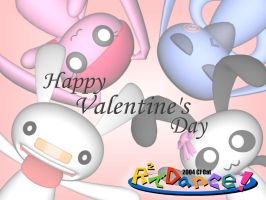 R squared Valentine's Day by cjcat2266
