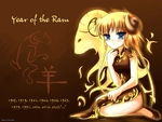 Year of the Ram Wallpaper by TheMorningMist