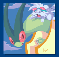 Flygon by Ash-Dragon-wolf