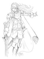 Lucina sketch by Shono