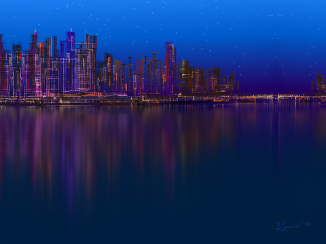Cityscape by Sillybilly60