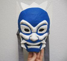 Blue Spirit Mask by Zalein