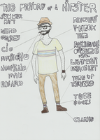 The Picture Of A Hipster by 2eyes-97