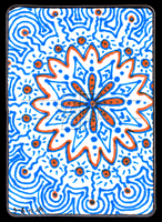 Blue And Orange ACEO 19 by Siobhan68