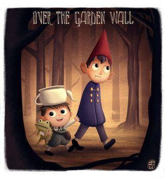 Over the garden wall fanart by uomocacca89