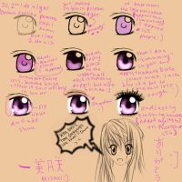 Misaki's Eye tutorial :) by MIDNITE-SILENZE