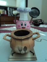 Smash Bros. Kirby Papercraft by LegendofFullmetal