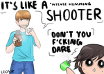 [SMOSH] AXE FIGHT! by SomeoneCoolerThanYou