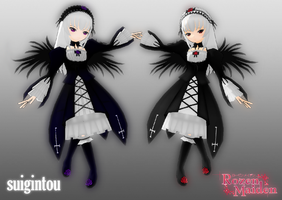 mmd newcomer - 'suigintou' by Count-L