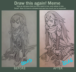 Draw this again ! - Lucina by Yuulinshi
