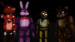 How to make 5 nights at Freddy's not scary (MMD) by SophieNyan