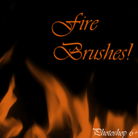 Fire Brushes by Tazni