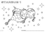 Red Dwarf - Starbug Line Art by P2Pproductions