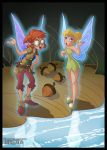 Digital Coloring: Tinker Bell Trilli by Turex33