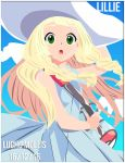 Lillie Pokemon Sun And Moon by Luchoxfive