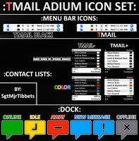 Tmail Adium Theme Pack by SgtMjrTibbets