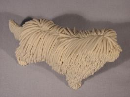 Clay Komondor: view 3 by Avocet21