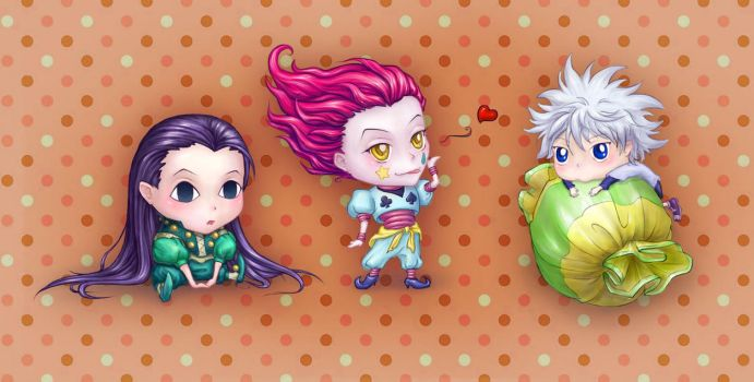 chibi HunterxHunter by Miriele