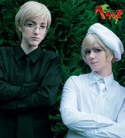 APH: Black and white by dreamcatcher-hina