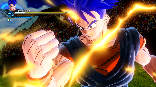 Dragonball Xenoverse 2: Tavens Sparking Power by TavenPrower
