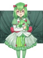 Request- Kirlia Gijinka by shiwizilla