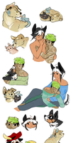 dump of happy tails babes by EnchantedAdopts