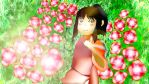 Into the Flowers - Spirited Away -Fan Art by chase4884