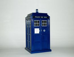 Toy Family - TARDIS 1 by LinearRanger
