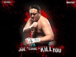 Samoa Joe Blood by inertiafx