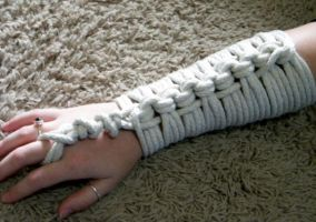 Rope arm gauntlets by Moose225