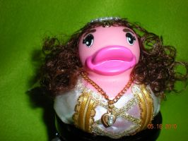 Princess Lily Rubber Duck by Oriana-X-Myst