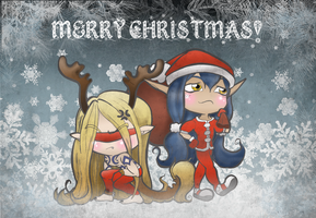 (2012-2013) MERRY CHRISTMAS! by LilithGiroyami