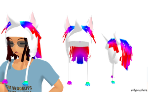 Unicorn Hat Download by chfgwuzhere