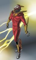 Supersonic Man by zeustoves