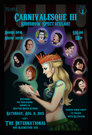 Carnivalesque III: Sideshow Spectacular!