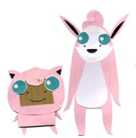 MCL Jigglypuff and Wigglytuff by philippajudith
